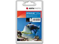 AgfaPhoto Ink Black HP No. 934 XL Pages 1000, 30ml APHP934BXL - eet01