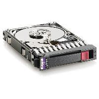 507127-B21 HP 300Gb SAS 10K 6G 2.5 DP HDD Refurbished with 1 year warranty