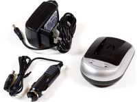 MicroBattery AC+DC Combo Charger For Canon MBDAC1086 - eet01