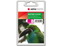AgfaPhoto Ink Magenta LC223M Pages 550, 10ml APB223MD - eet01