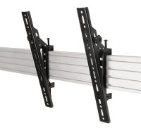 B-Tech Flat Screen Interface Arms W/tilt (pair), Black Vesa 400 BT8390-VESA400T/B - eet01