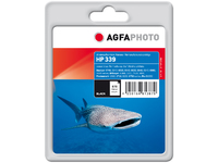 AgfaPhoto Ink Black, HP No. 339 Pages 860, 34ml APHP339B - eet01