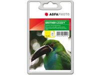 AgfaPhoto Ink Yellow LC223Y Pages 550, 10ml APB223YD - eet01