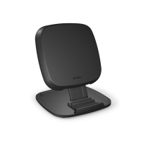 Zens Zens Ultra Fast Wireless Charger Stand - Wireless Charging Stand + Ac Power Adapter - 15 Watt - Apple Fast Charge / Samsung Fast Charge - United Kingdom, United States, European Union Zesc07ba/00 - xep01