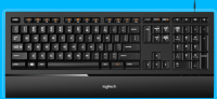 Logitech Illuminated Keyboard USB USA USA Layout 920-000914 - eet01