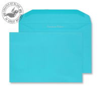 809M Blake Creative Colour Cocktail Blue Gummed Mailer 162X235mm 120Gm2 Pack 500 Code 809M 3P- 809M