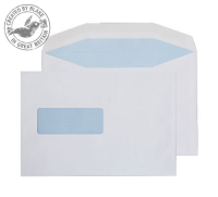 1006 Blake Purely Everyday White Window Gummed Mailer 162X238mm 90Gm2 Pack 500 Code 1006 3P- 1006