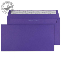 247 Blake Creative Colour Blackcurrant Peel & Seal Wallet 114X229mm 120Gm2 Pack 500 Code 247 3P- 247