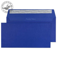 243 Blake Creative Colour Victory Blue Peel & Seal Wallet 114X229mm 120Gm2 Pack 500 Code 243 3P- 243