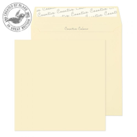 653 Blake Creative Colour Clotted Cream Peel & Seal Square Wallet 160X160mm 120Gm2 Pack 500 Code 653 3P- 653