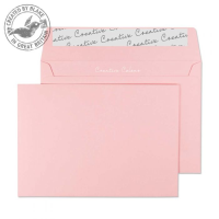 101 Blake Creative Colour Baby Pink Peel & Seal Wallet 114X162mm 120Gm2 Pack 500 Code 101 3P- 101