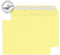 316 Blake Creative Colour Lemon Yellow Peel & Seal Wallet 162X229mm 120Gm2 Pack 500 Code 316 3P- 316