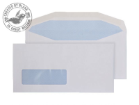 3998LW Blake Purely Everyday White Window Gummed Mailer 114X235mm 90Gm2 Pack 1000 Code 3998Lw 3P- 3998LW