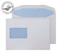 6804CBC Blake Purely Everyday White Window Gummed Mailer 162X238mm 90Gm2 Pack 500 Code 6804Cbc 3P- 6804CBC