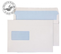 2808 Blake Purely Everyday White Window Self Seal Wallet 162X238mm 90Gm2 Pack 500 Code 2808 3P- 2808