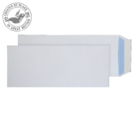 3402PS Blake Purely Everyday White Peel & Seal Pocket 305X127mm 100Gm2 Pack 250 Code 3402Ps 3P- 3402PS