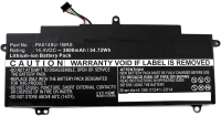 MicroBattery Laptop Battery for Toshiba 54.72Wh Li-ion 14.4V 3800mAh MBXTO-BA0030 - eet01