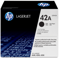 Hp Tonercartridge 42a For Lj4250/4350 Black - Q5942a - xep01