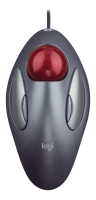 Logitech Logitech Trackman Marble - Trackball - Right And Left-handed - Optical - 4 Buttons - Wired - Usb 910-000808 - xep01