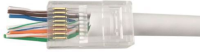 MicroConnect Modular EZ Plug RJ45 8P8C CAT6 Unshielded, 10pcs in one bag KON505-10EZ - eet01