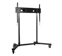 "B-Tech Flat Screen Trolley / Floor Stand 65"" + BT8506/BB - eet01"