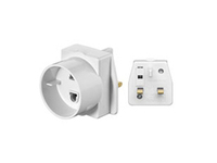 MicroConnect Travel adapter UK For devices with euro plug 93255 - eet01