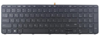 HP Keyboard (Nordic)  827029-DH1 - eet01