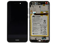 Huawei P8 Lite 2017 (PRA-L31) Black With Battery and Frame 02351VBT - eet01