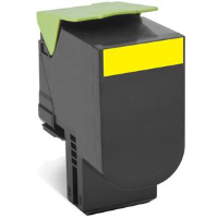 lexmark Yellow Return Toner 3K 80C2HY0 - MW01