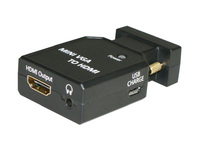 MicroConnect Mini VGA to HDMI Converter Mini VGA housing MC-CONMVGAHM - eet01