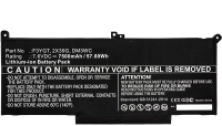 MicroBattery Laptop Battery for Dell 57Wh lion 7.6V 7500mAh 4 Cell MBXDE-BA0142 - eet01