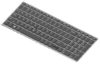 HP Keyboard(DUTCH) W. Backlight L14366-B31 - eet01