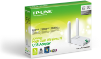 TP-Link 300M WLAN USB-HIGH-GAIN-Adapt.  TL-WN822N - eet01