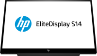 "Hp S14 14"" Led Backlit Usb Portable Monitor - 1920x1080/usb-c 3hx46at - xep01"