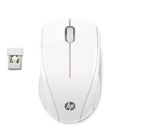 Hp Hp X3000 - Mouse - Optical - 3 Buttons - Wireless - 2.4 Ghz - Usb Wireless Receiver - Blizzard White - For Hp 15  17; Desktop M01; Pavilion 59x; Pavilion Gaming 690  Tg01; Pavilion X360; Slim S01 N4g64aa#abb - xep01