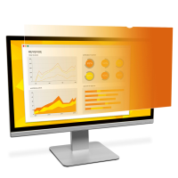 """3M Gold Privacy Filter for 23.6"""" Widescreen Monitor Aspect 98044065674 - eet01"""