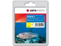 AgfaPhoto Ink Y, rpl HP No 88 XL Yellow, Pages 1.540, 23ml APHP88XLY - eet01