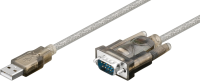 MicroConnect USB2.0 - Serial DB9 M-M, 1,5m With Prolific chipset 68875 - eet01