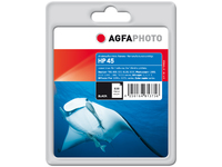 AgfaPhoto Ink Black, HP No. 45 Pages 490, 45ml APHP45B - eet01