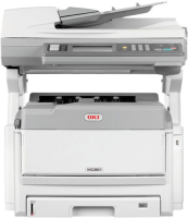 43967031 Oki MC851DN A3 Colour Laser Multifunction Printer - Refurbished
