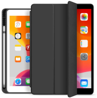 ESTUFF Pencil case iPad Mini 2019 Black. PU leather front with  ES682080-BULK - eet01