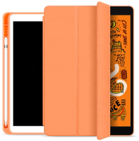 ESTUFF Pencil case iPad 9.7 2017/2018 Papaya. PU leather front with  ES682088-BULK - eet01