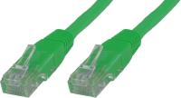 MicroConnect U/UTP CAT6A 0,25M Green LSZH Unshielded Network Cable, UTP6A0025G - eet01