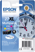 Epson DURAB Ultra Ink 27 XL Multipack (3 colors)      T 27 C13T27154012 - eet01