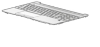 HP Keyboard (FRENCH) W. Top Cover L52023-051 - eet01