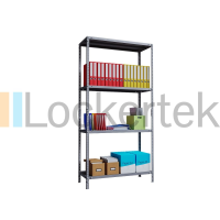 Fast Delivery 4 Shelf Static Shelving Unit