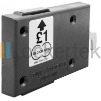 L&F 19mm Dry Area Coin Lock For Lockers