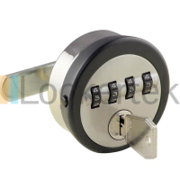 L&F 4 Dial Combination Lock For Lockers