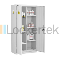Tall Acid/Alkaline Cabinet with 6 Shelves