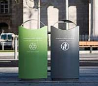 External Recycling Bins